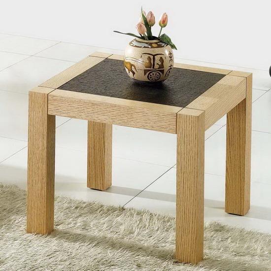 Wood side table Granite Oak : graniteoakendtable from www.fu-nicha.com size 550 x 550 jpeg 104kB