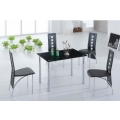Jet Dining Table and 4 Chair Set FU-NICHA Genuine Brand