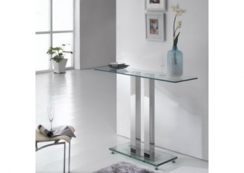 Ice Transparent Console Table