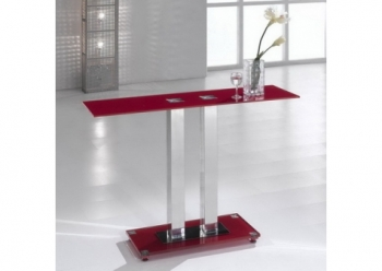 Ice Red Console Table
