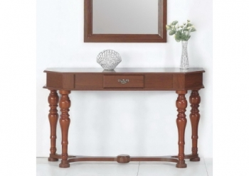 Wood console table Dragons Nutmeg