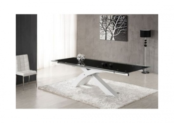 'NEXUS' Large Top Quality Extending Dining Table White