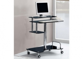 Roley - Black Computer Desk