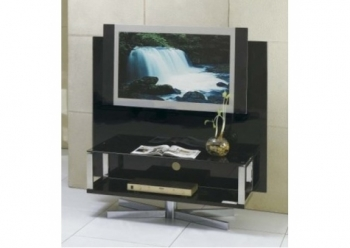 Plasma Swivel - Black TV stand